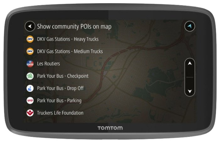 TomTom Навигатор TomTom GO PROFESSIONAL 6200