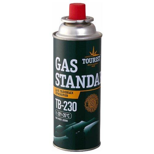 Баллон TOURIST GAS STANDARD TB-230 темно-зеленый