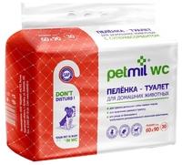 Пеленки для собак впитывающие Медмил Petmil WC 60х90 см