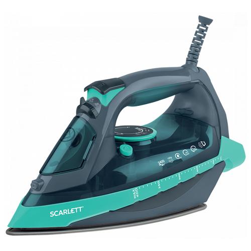 Утюг Scarlett SC-SI30K32 зеленый/серый scarlett sc hs60t52 серый