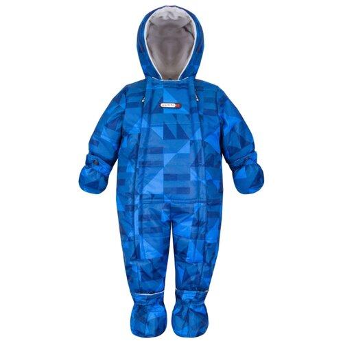 Комбинезон GUSTI GWB 2108 размер 12M/74, синий комбинезон gusti gwb 2108 размер 12m 74 синий