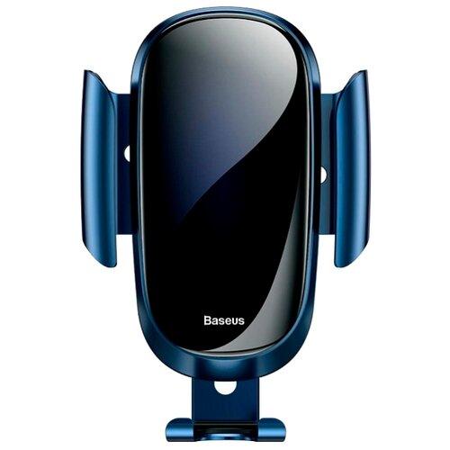 Держатель Baseus Future Gravity Car Mount (Suyl-WL0S/WL03/WL01) синийДержатели для мобильных устройств<br>