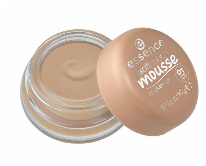 Essence Тональный мусс Soft touch mousse make-up 16 г
