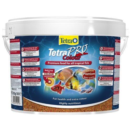 Сухой корм для рыб Tetra TetraPro Colour 10000 мл