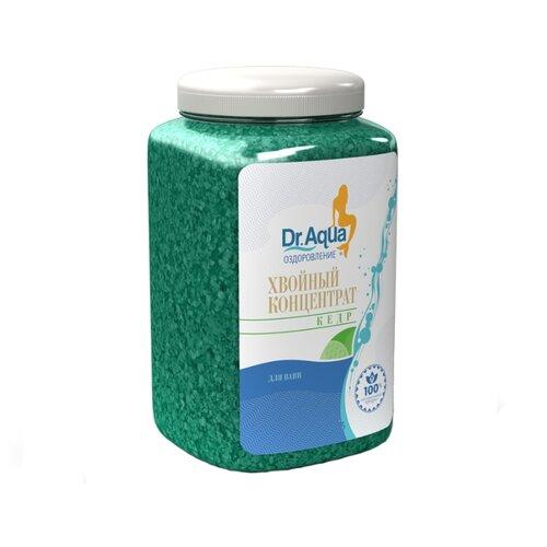 Dr. Aqua Соль для ванн Хвойный концентрат КедрПена, соль, масло<br>