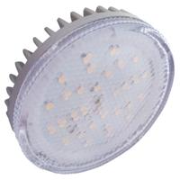 Лампа светодиодная Ecola, GX53 LED 6,0W Tablet 220V 4200K 27x75 GX53, GX53, 6Вт, 4200К