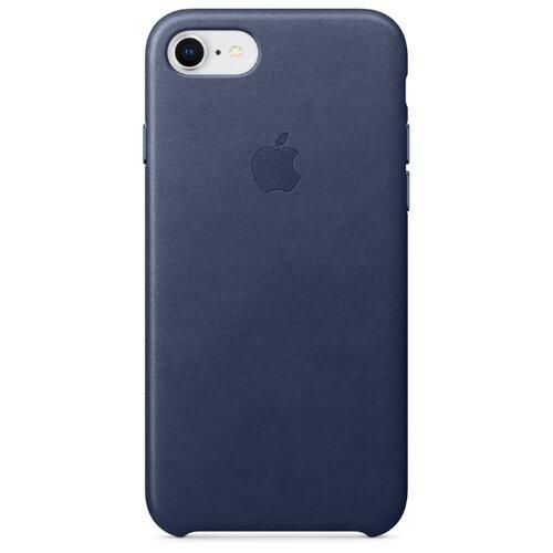 Чехол Apple кожаный для Apple iPhone 7/iPhone 8 Midnight blue
