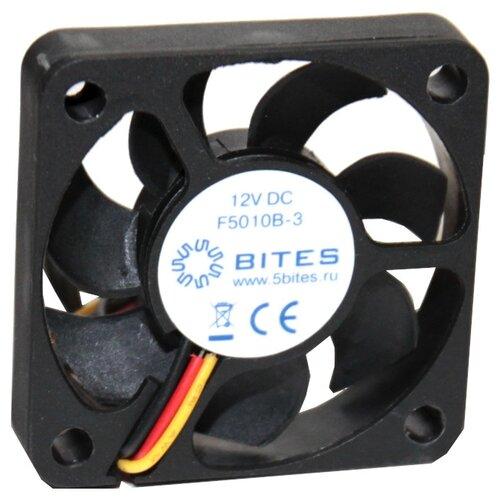 Вентилятор для корпуса 5bites F5010B-3 черный 1 шт. вентилятор для корпуса 5bites f6010s 3