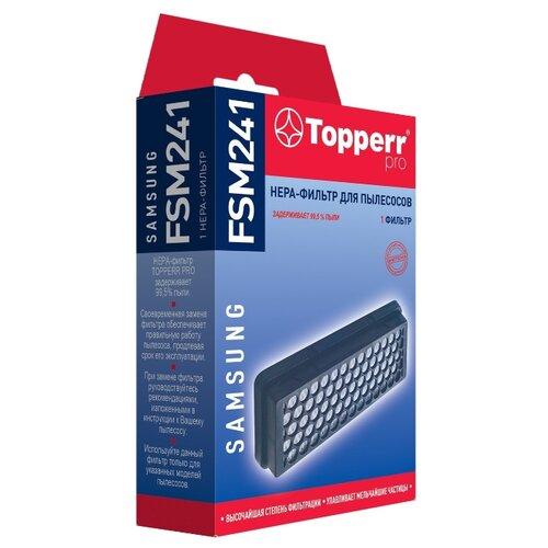 Фото - Topperr HEPA-фильтр FSM 241 1 шт. topperr hepa фильтр fml 2 1 шт