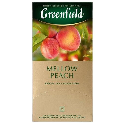 Чай зеленый Greenfield Mellow Peach в пакетиках, 25 шт.Чай<br>