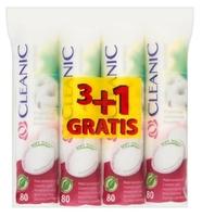 Промо-набор Cleanic Pure effect Ватные диски гигиенические 80 шт. (3+1 в подарок)
