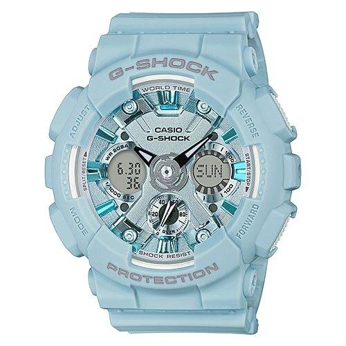 цена Наручные часы CASIO GMA-S120DP-2A онлайн в 2017 году