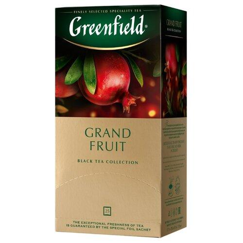 Чай черный Greenfield Grand Fruit в пакетиках, 25 шт.Чай<br>