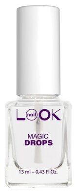 Верхнее покрытие NailLOOK Magic Drops экспресс сушка