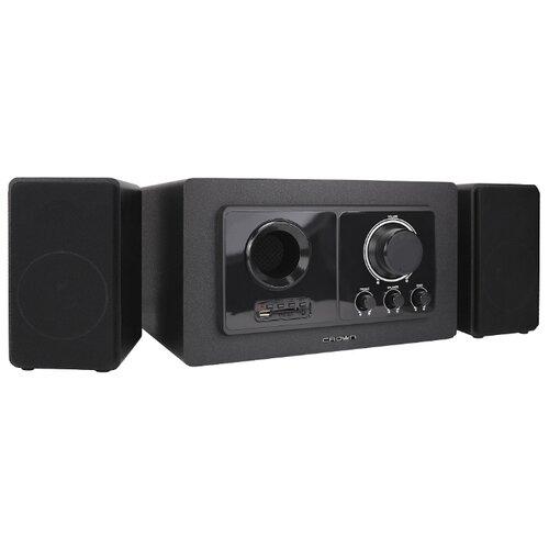 цена на Компьютерная акустика CROWN MICRO CMBS-501 черный