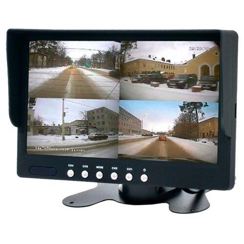Автомобильный монитор AVEL AVS4715BM черный автомобильный монитор avel avs4715bm черный