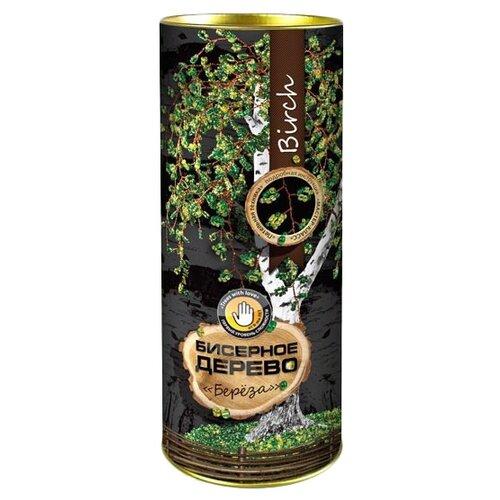 Купить Danko Toys Набор для бисероплетения Бисерное дерево. Береза БД-01 зеленый, Бисер и бисероплетение