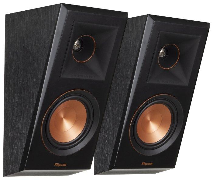 Полочная акустическая система Klipsch RP-500SA ebony фото 1