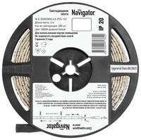 Светодиодная лента Navigator NLS-3528СW60-4.8-IP20-12V R5 5 м