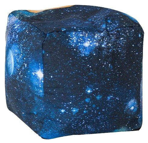 DreamBag пуфик Космос синий жаккард