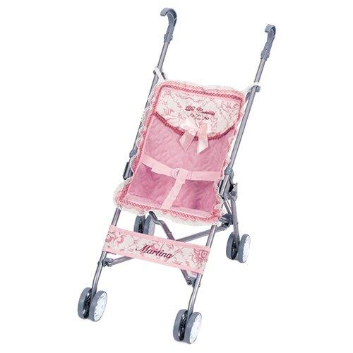 Купить Прогулочная коляска DeCuevas Скай 90096 розовый, Коляски для кукол