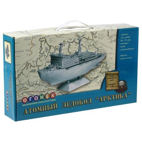 Сборная модель ОГОНЁК Атомный ледокол Арктика (С-288) 1:400 ледокол 2