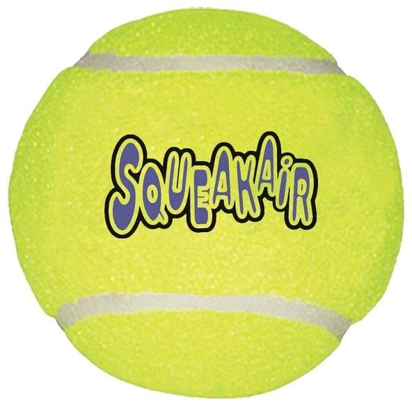 Мячик для собак KONG Air теннисный очень большой (ASTXB)