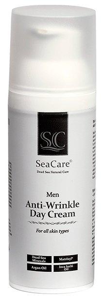 SeaCare Антивозрастной крем для лица против морщин мужской с Матриксилом и минералами Мёртвого Моря