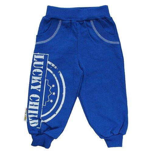 Купить Брюки lucky child размер 26/1, синий, Брюки и шорты