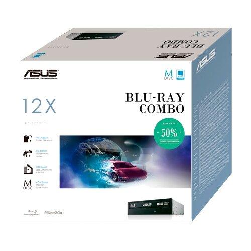 Оптический привод ASUS BC-12D2HT Black BOX