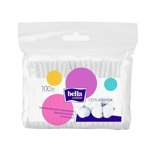Ватные палочки Bella Cotton гигиенические 100 шт. пакет