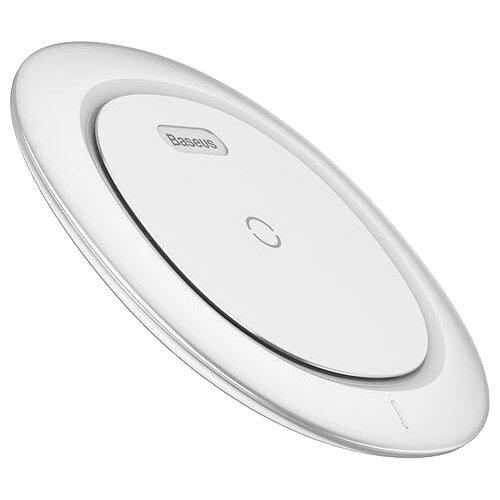 Фото - Беспроводная сетевая зарядка Baseus UFO Desktop Wireless Charger белый беспроводная сетевая зарядка baseus ufo desktop wireless charger черный