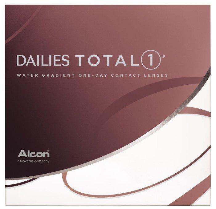 Контактные линзы Dailies (Alcon) Total1 (90 линз) R 8,5 D -9,5