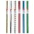 Цветная бумага голографическая металлизированная в рулоне Herlitz, 40х100 см, 1 л. в ассортименте