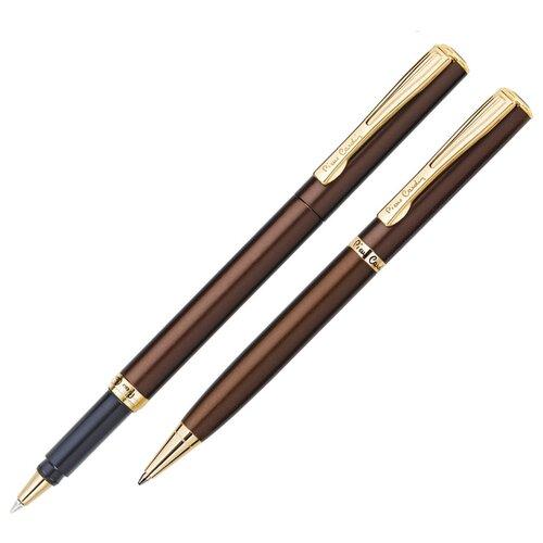 Pierre Cardin набор подарочный шариковая ручка+ручка-роллер (PC0866BP/RP)Ручки<br>