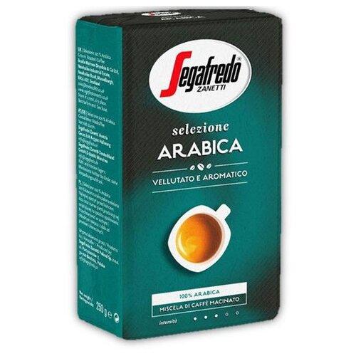 Фото - Кофе молотый Segafredo SELEZIONE ARABICA, 250 г segafredo intermezzo кофейный набор кофе молотый 250 г термокружка 400 мл