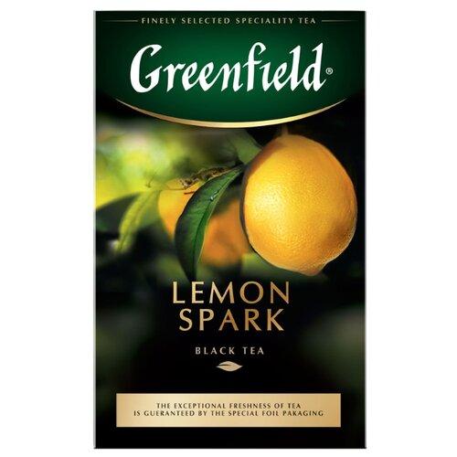 Чай черный Greenfield Lemon Spark, 100 г greenfield english edition черный листовой чай 100 г