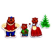 Магнитный театр Три медведя VT3206-10 Vladi Toys