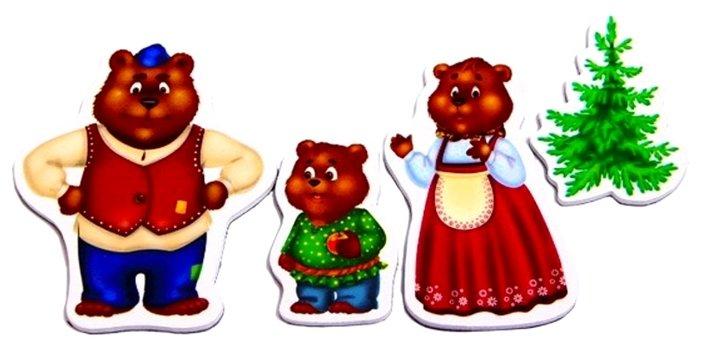 красном сказка три медведя картинки героев отдельно каждый внимание нужно