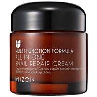 Mizon All in one snail repair cream Крем для лица с экстрактом улитки (75g).
