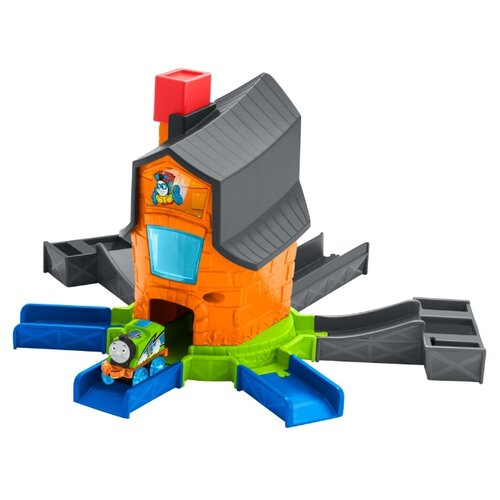 Fisher-Price Стартовый набор Boost 'N Blast, серия Minis, FJP36 игрушка fisher price стартовый набор