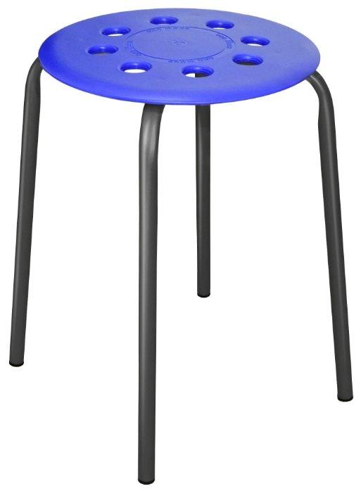 Табурет Nika с пластмассовым сиденьем (ТП01) металл