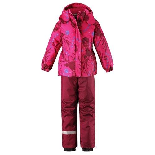 Комплект с брюками Lassie 723734 размер 116, розовый с принтом