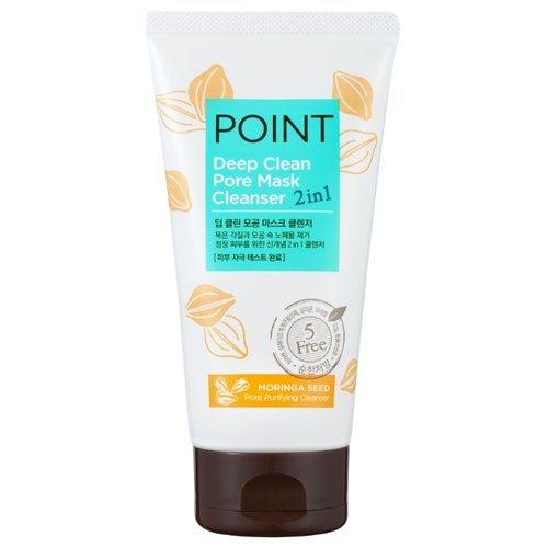 Купить Point очищающая маска и пенка для умывания 2в1 Глубокое очищение (для всех типов кожи), 150 мл