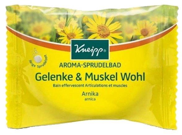 Kneipp Соль для ванн Здоровье мышц и суставов, шипучая таблетка 80 г