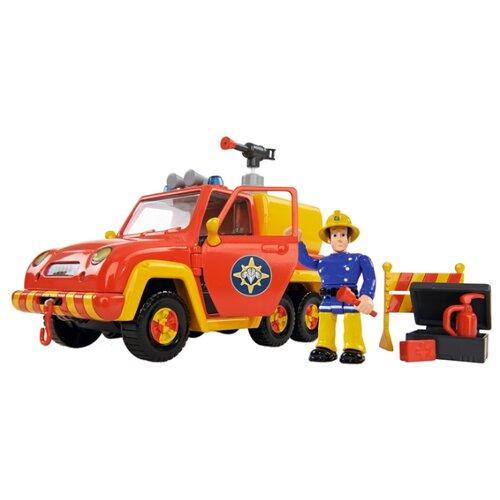 Пожарный автомобиль Dickie Toys Пожарный Сэм Венера (9257656) красный/желтый