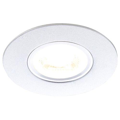 Встраиваемый светильник Ambrella light A500 SL, серебро встраиваемый светильник ambrella light p2350 sl