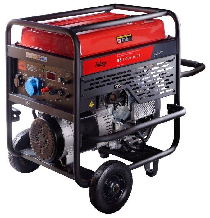 Бензиновый генератор с автоматическим запуском Fubag BS 11000 DA ES с АВР 10 кВт