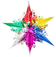 Подвеска Феникс Present Звезда волшебная цветная 38.5 x 29 см