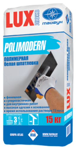 Шпатлевка Тайфун Lux Polimodern